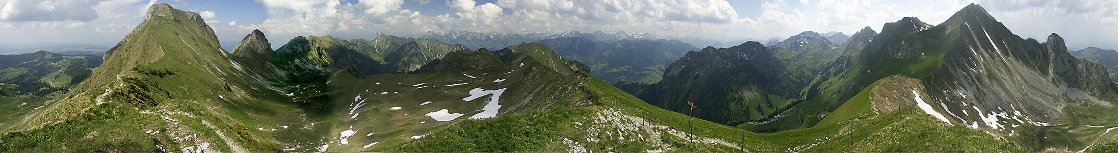 Berner Voralpen-Panorama
