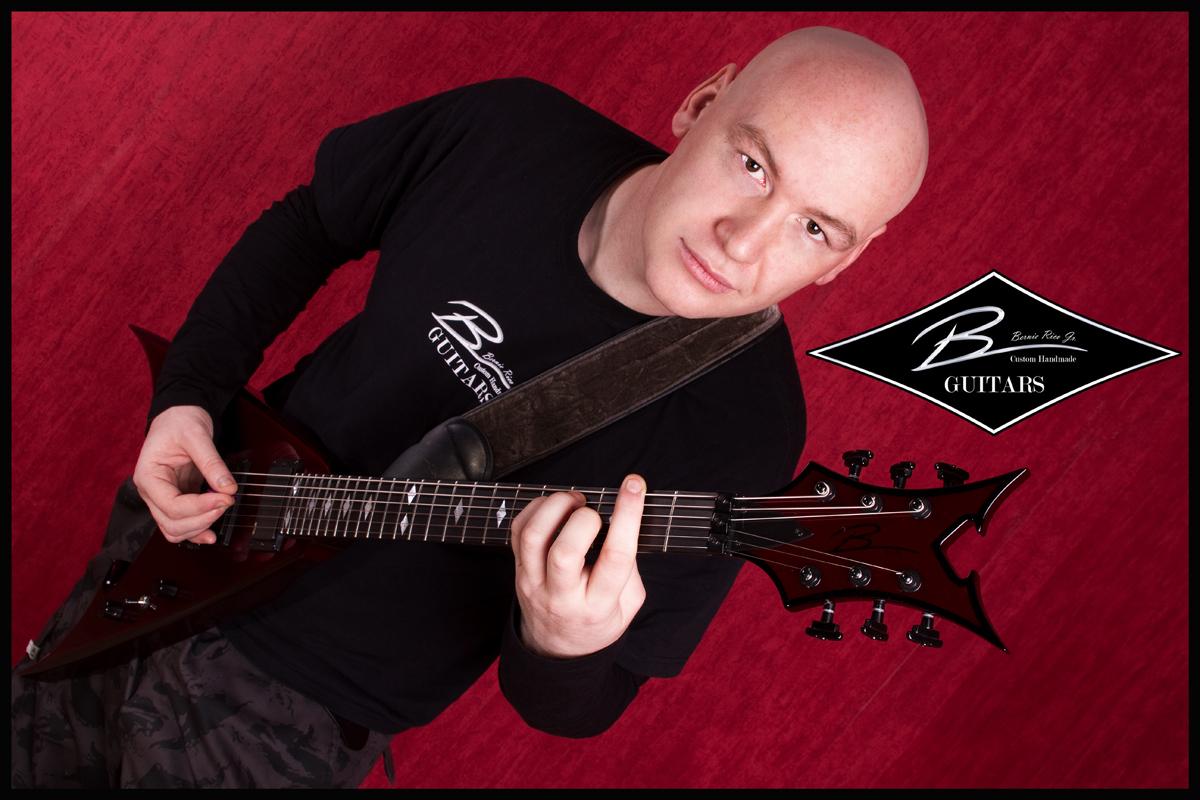 Bernie Rico Jr. Custom Guitars Promoshooting
