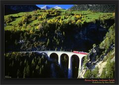 Bernina Express, Landwasser Viadukt