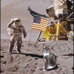 Berti und Norbert auf dem Mond