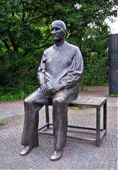 Bertolt Brecht - Denkmal