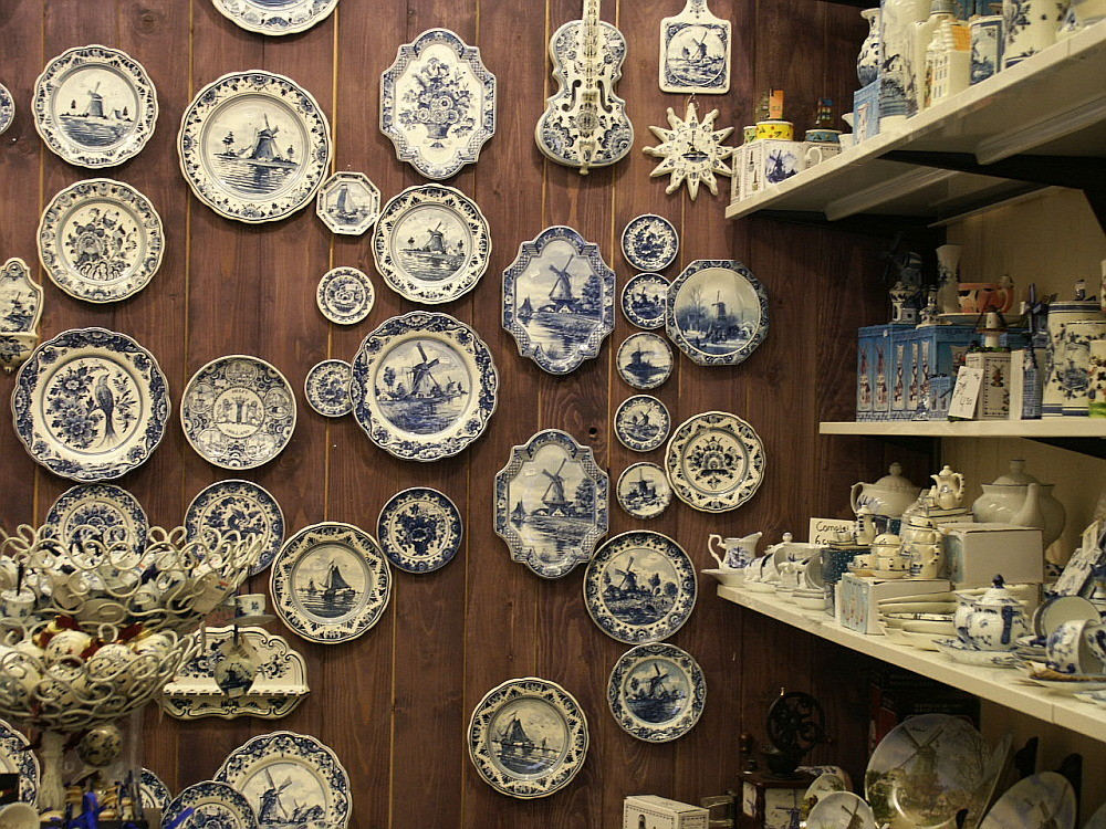 Berühmt ist Delft...