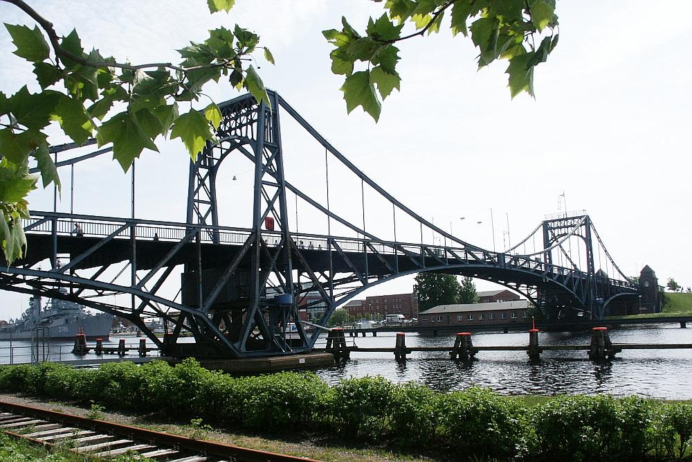 Berühmte Drehbrücke...