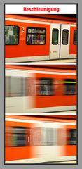 Beschleunigung S Bahn München