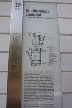 Beschreibung zur Stadtresidenz in Landshut
