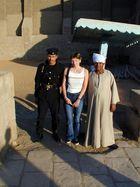 Beschützer im Edfu-Tempel / Ägypten.