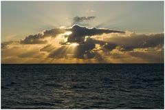 Beschützerwolke für die Seefahrt