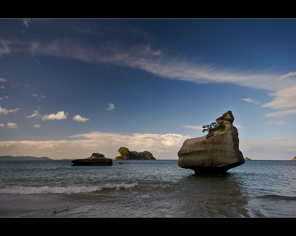 Beside Cathedral Cove