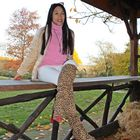 Beside the hay
