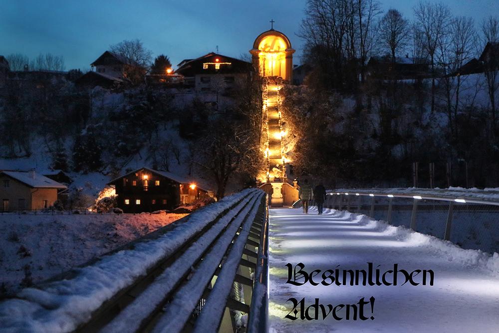 Besinnlichen Advent!