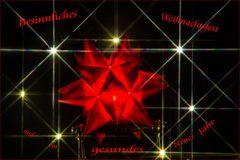 Besinnliches und friedliches Weihnachtsfest...