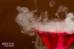 Besonderer Cocktail