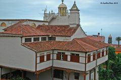 Besonderes Gebäude in La Orotava Teneriffa