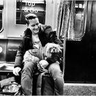 Best Friends on a Shuttle Train