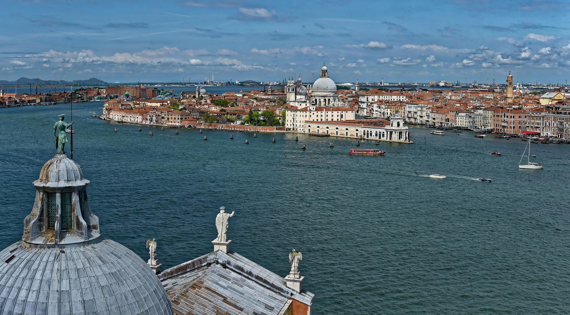 Best view on Venice: Insel San Giorgio Maggiore