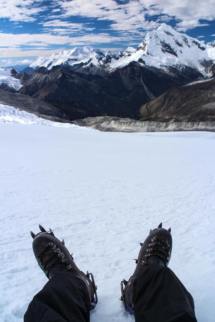 Besteigung des Nevado Pisco