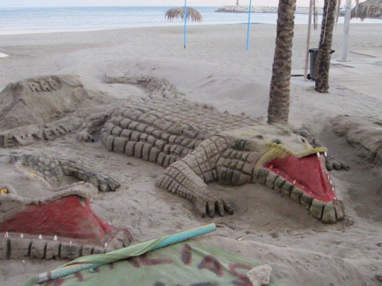 Bestien aus Sand...oder zahme Krokos