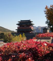 Besuch am Juyong-Pass