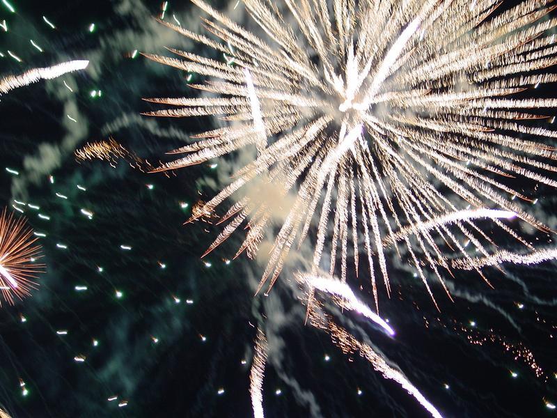Besuch der Feuerwerkssinfonie 3