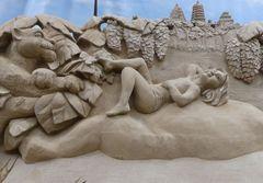 Besuch der Sand-Skulpturen-Ausstellung in Travemünde (2)