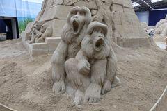 Besuch der Sand-Skulpturen-Ausstellung in Travemünde