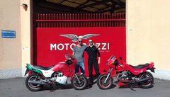 Besuch im MotoGuzzi-Werk