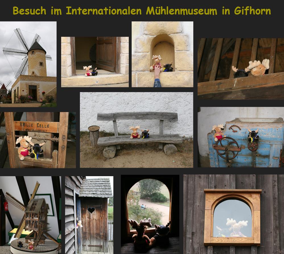 Besuch im Mühlenmuseum