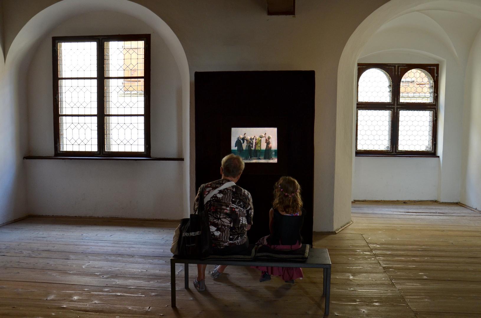 Besuch im Museum