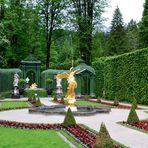 Besuch im Schloss Linderhof (4)