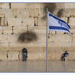 ...beten an der Klagemauer...