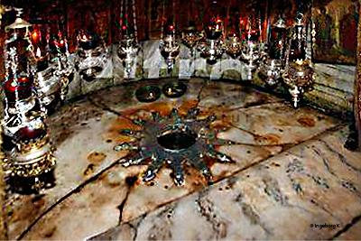 Bethlehem - Geburtskirche - Geburtsgrotte