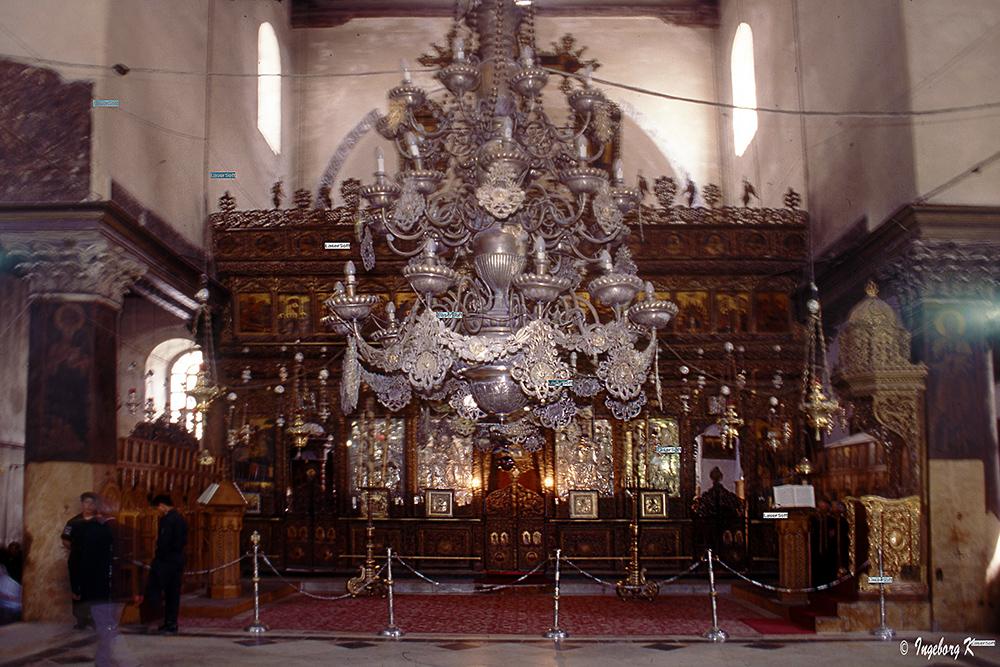 Bethlehem - Geburtskirche - Hauptaltar