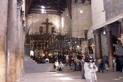 Bethlehem - Geburtskirche - Kirchenschiff