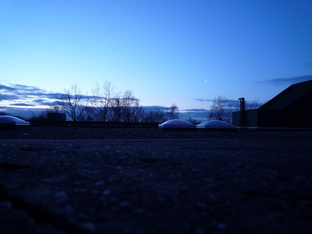 Beton Schönheit - Die RUB in den Morgenstunden