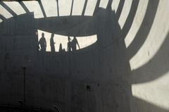 Beton und Schatten