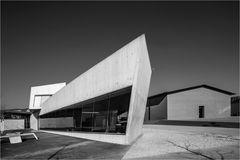 Beton und Ziegel Architektur
