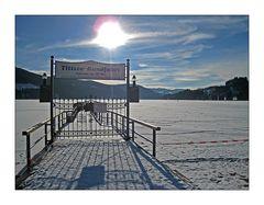 Betreten der Eisfläche verboten !
