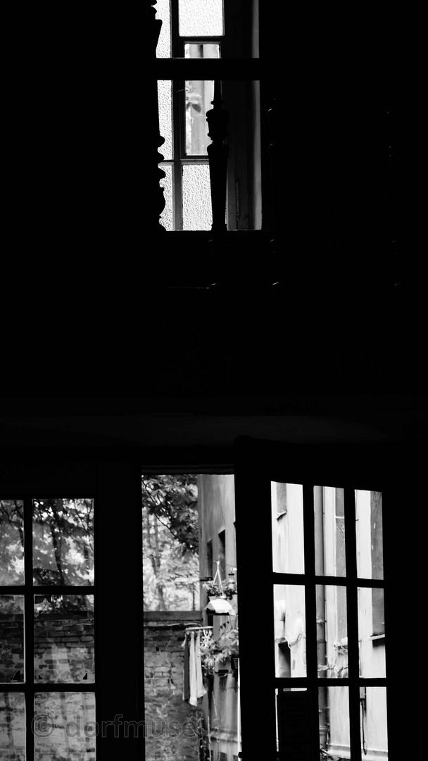 Betreten linearer Dunkelheit