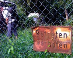 Betreten verboten?