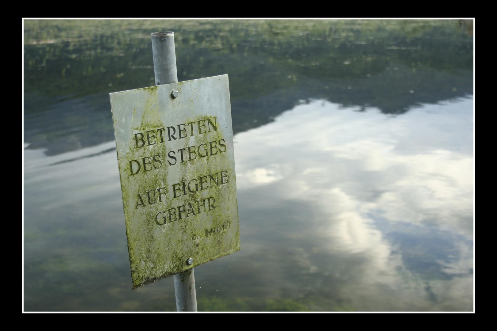 Betreten verboten!