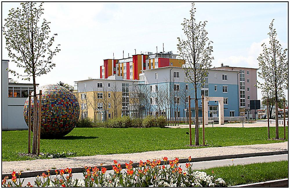 betreutes wohnen in burghausen foto bild deutschland europe bayern bilder auf fotocommunity. Black Bedroom Furniture Sets. Home Design Ideas