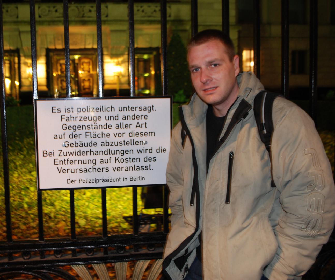Betteln und hausieren verboten...