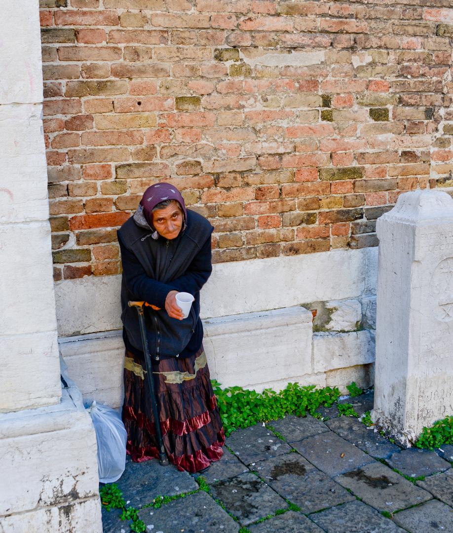 Bettlerin - Venezia