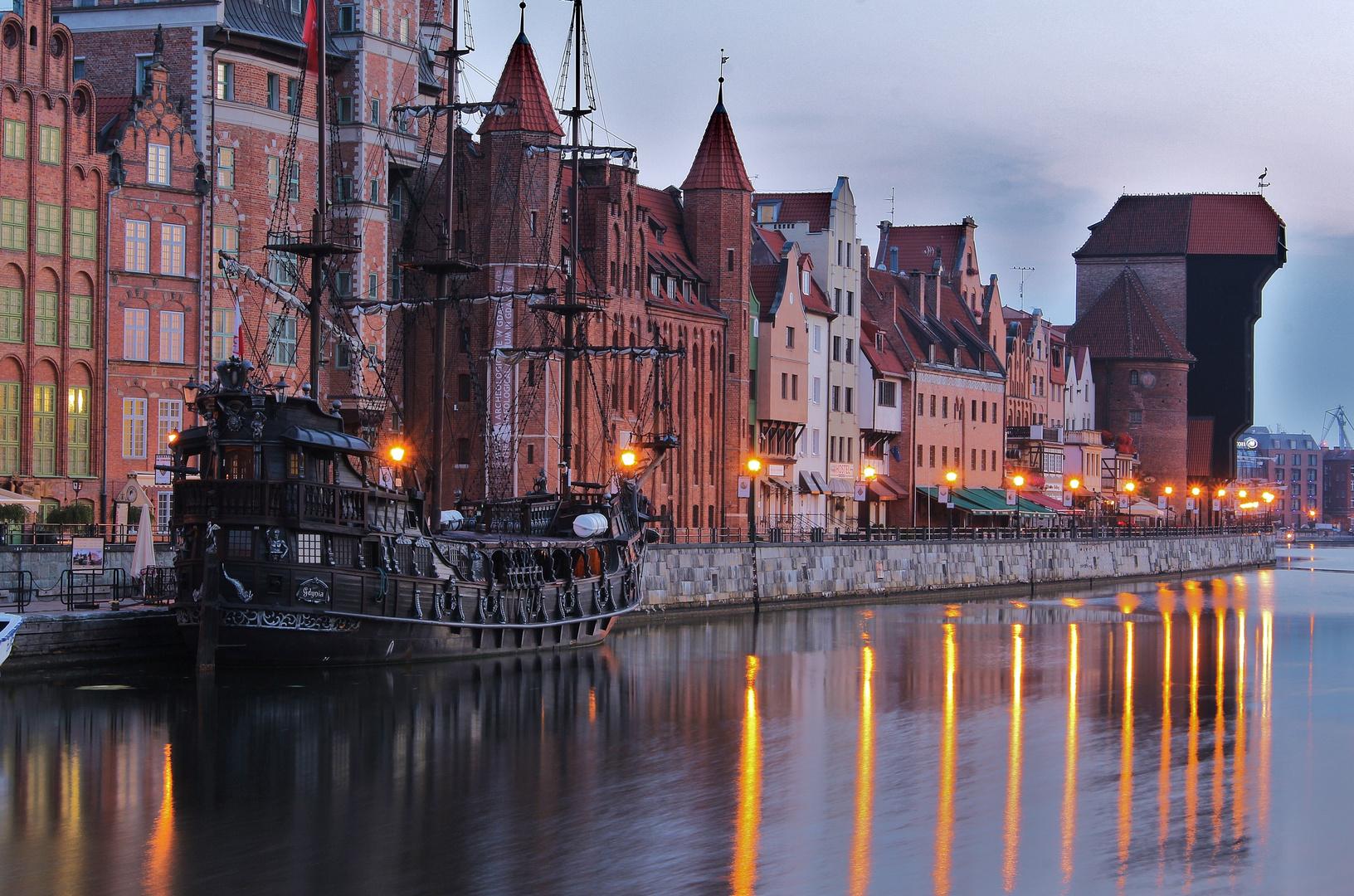 Bevor die Danziger Altstadt erwacht