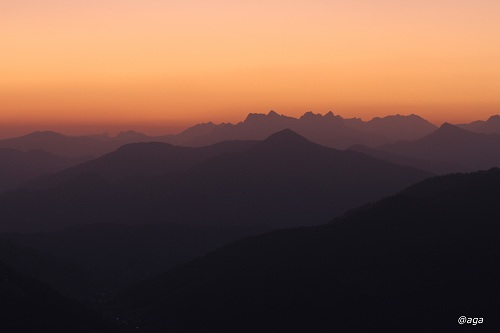 bevor die Sonne aufging- Holzalm Gratlspitz Brixlegg