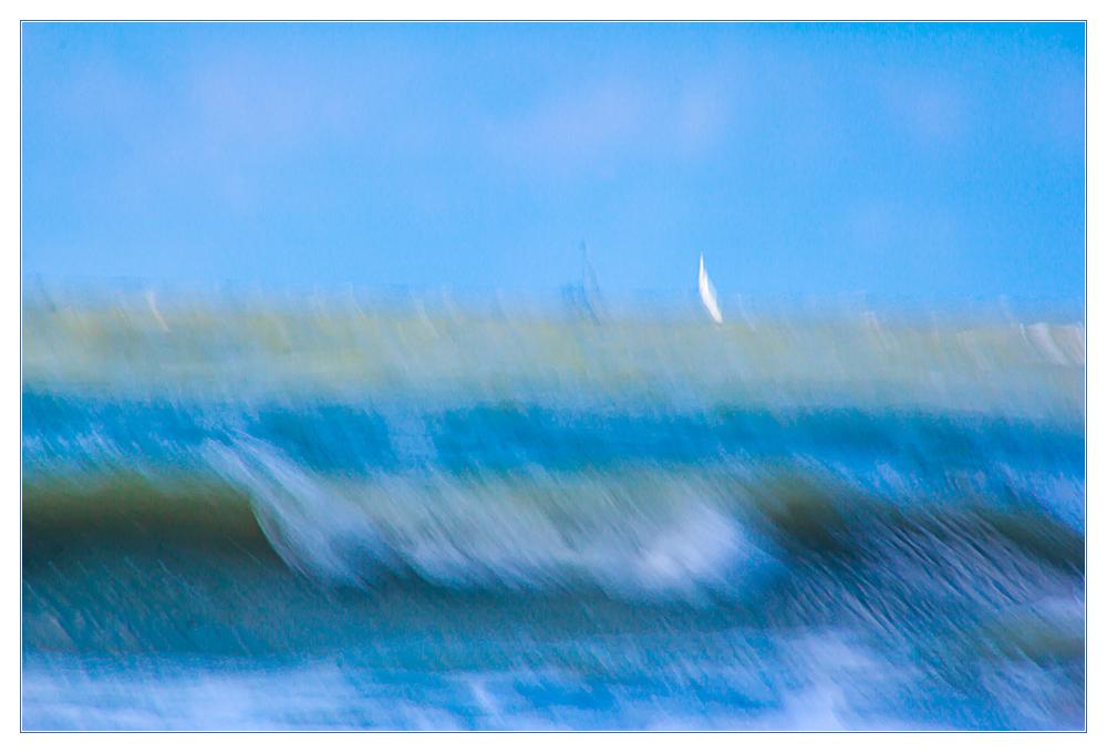 Bewegtes Meer... - wie gemalt...