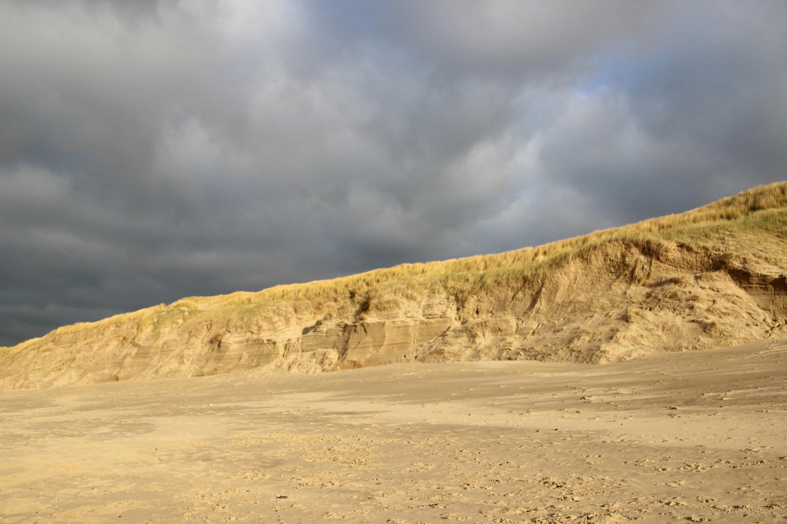 Bewölkte Dünen