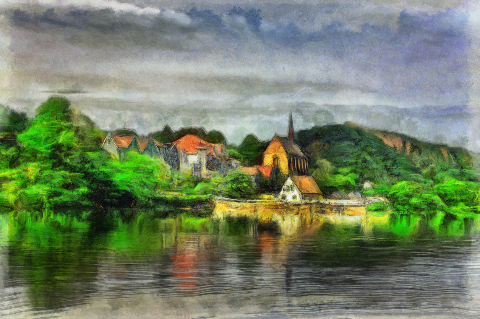 Beyenburgs verträumter See