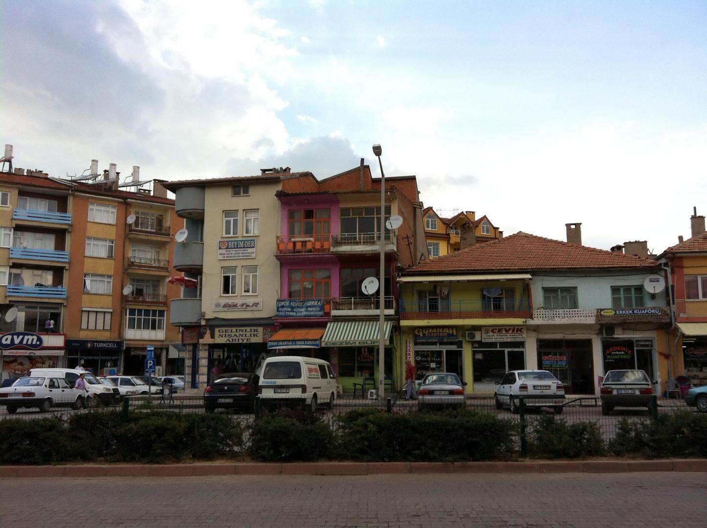 Beysehir, Konya street.