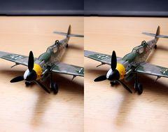 Bf 109 Modell 3D